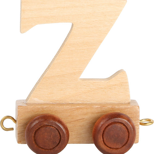 Letter train Z