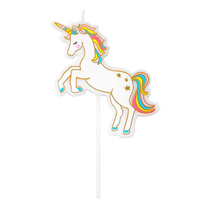 We Heart Unicorns Unicorn Candle
