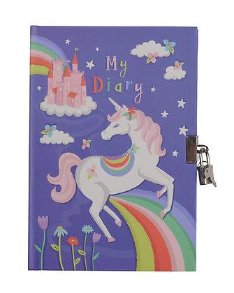 My Diary - Unicorn Rainbows - CDU/12