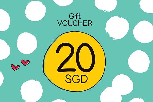 20 SGD GIFT VOUCHER