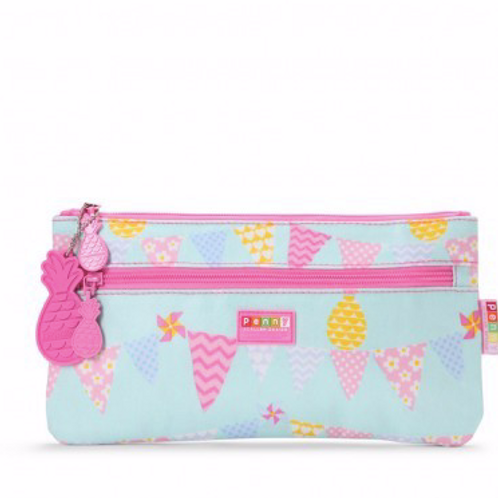 Pencil Case Pineapple Bunting - LARGE
