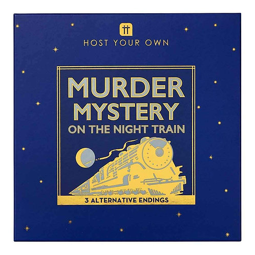 HOST YOUR OWN - MURDER MYSTERY ON THE NIGHT TRAIN