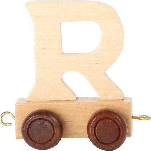 Letter Train R