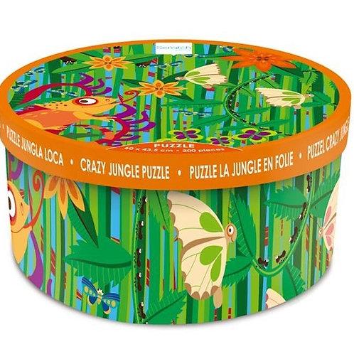 200 pieces puzzle - Crazy Jungle