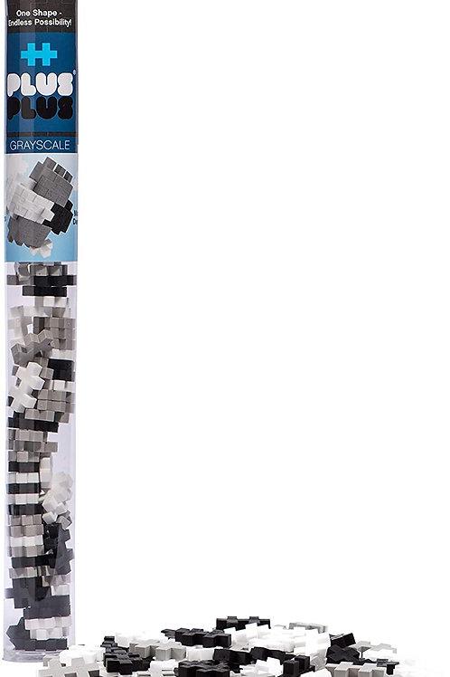 Plus-Plus Greyscale/ 100 pcs Tube