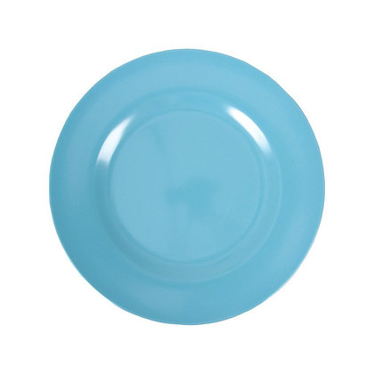 Melamine Round Side Plate in Turquoise
