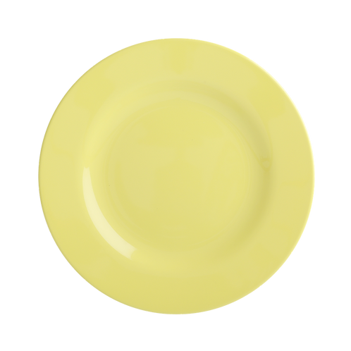 Melamine Round Side Plate in Yellow