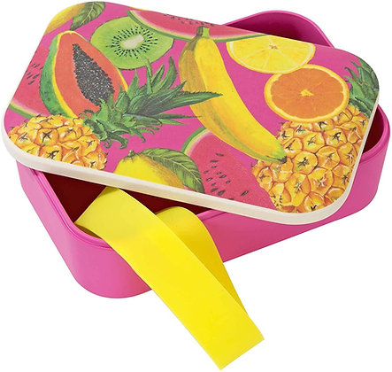 TROPICAL FIESTA FRUIT DESIGN ECO LUNCH BOX