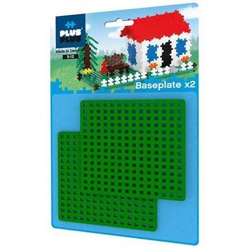 Plus Plus mini base plate - (2pcs)