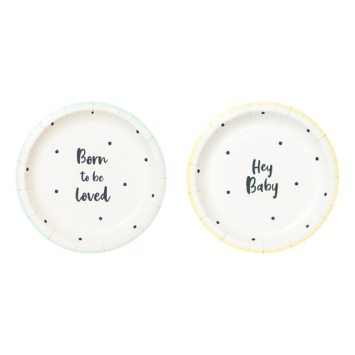 Born To Be Loved Plate