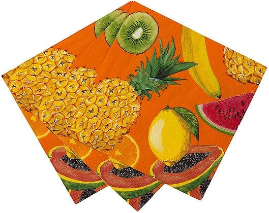 Tropical Napkin-Fruit