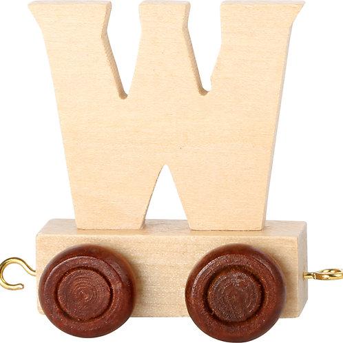 Letter Train W