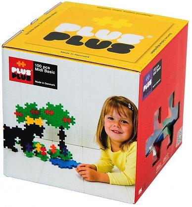 Plus-Plus MIDI Basic 100 Piece Set