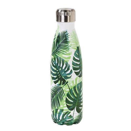 Tropical Fiesta Palm Print Bottle