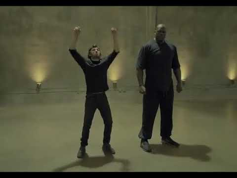 Shaq and Adam Dance