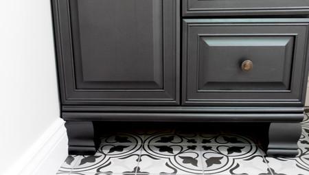 Bathroom Design, Modern Black and White