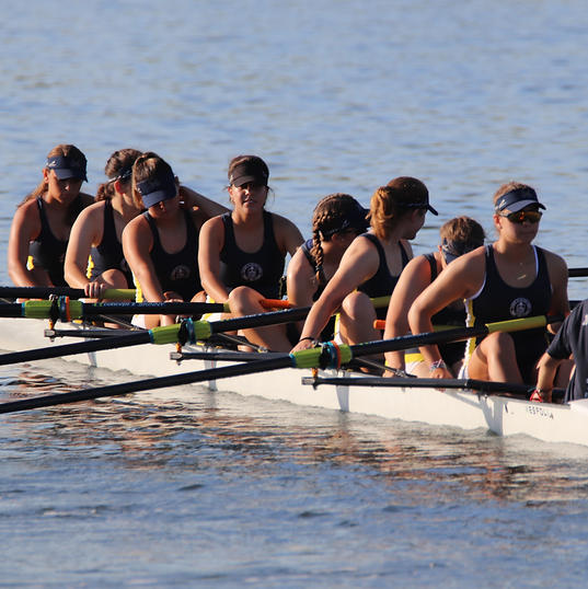 AHNRC High School Women's 8+ (A) Going To The Start Line
