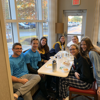 AHNRC Women's High School Eating Breakfast Before Practice