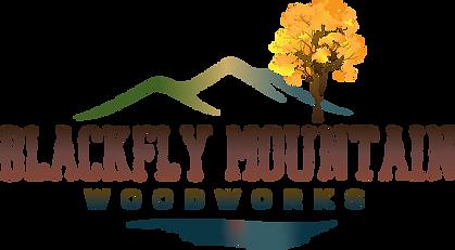 Blackfly Mountain Woodworks Logo Final C