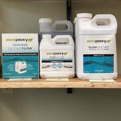 EcoPoxy FlowCast kits