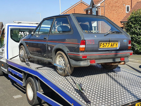 Classic Car Transport | Liverpool to Wirral | Ford Fiesta XR2 | CR&R 24hr