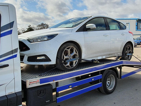 Car Transport | Co-parts to Liverpool Aintree | Ford Focus ST | CR&R 24hr