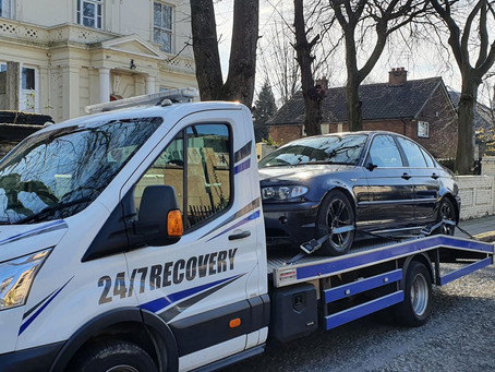 Car Transport | Wavertree to Warrington | BMW 325I Track Drift Car | CR&R 24hr