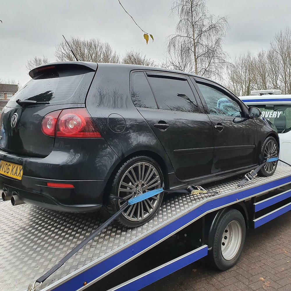 Volkswagen Golf R32 Transported