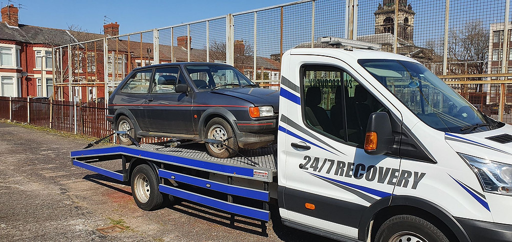Ford Fiesta XR2 going to storage