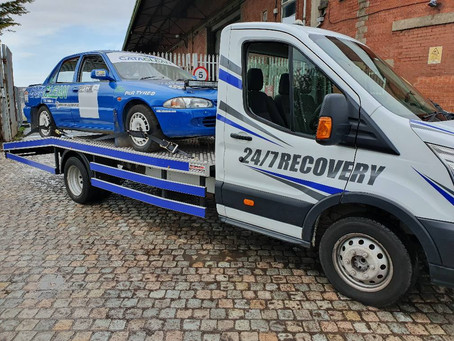 Car Transport | Liverpool to St Helens | Proton Citroen Ford Track Race Cars | CR&R 24hr