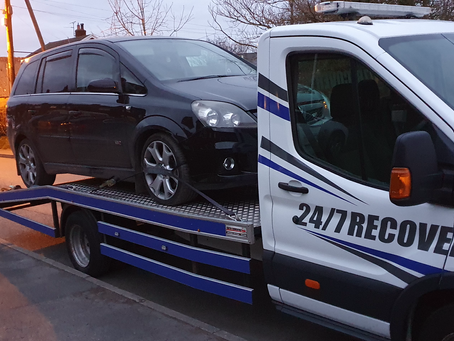 Car Transport | Mold to Kirkby Liverpool | Vauxhall Zafira VXR | CR&R 24hr