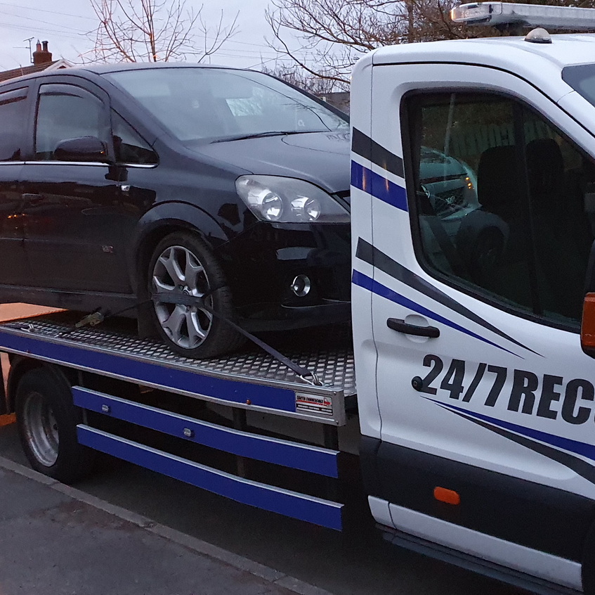Vauxhall Zafira VXR transport