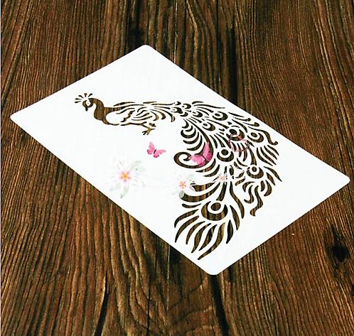 Peacock   - Stencil