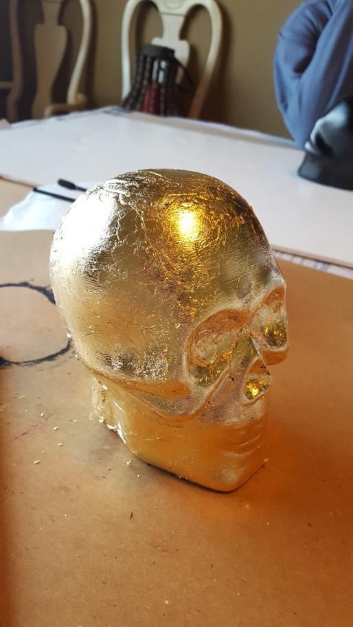 Skull of Gold