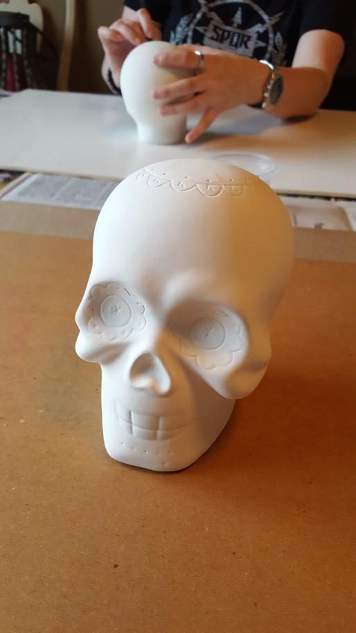 Ceramic Skull