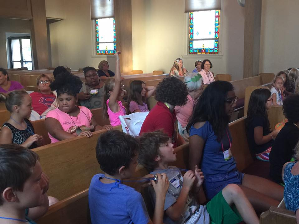 Our Annual VBS works with 3 other local churches