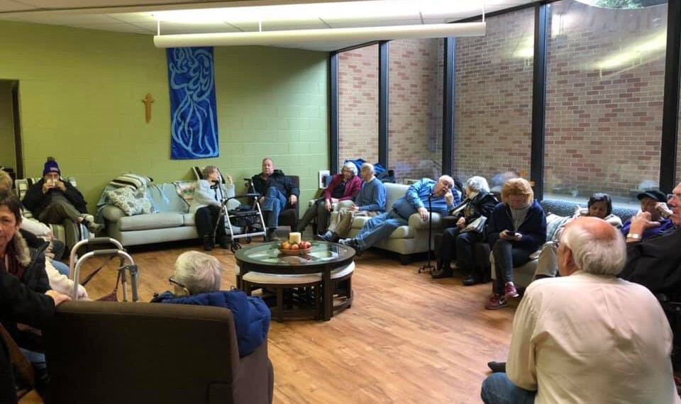 Our Thanksgiving Outreach makes a home-like experience