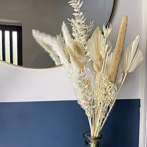 Large Natural Dried Flower Bunch