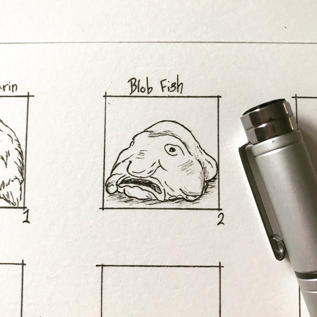 Day 2: Blob Fish