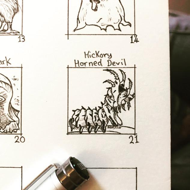 Day 21: Hickory Horned Devil