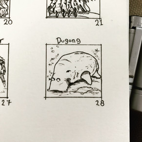 Day 28: Dugong