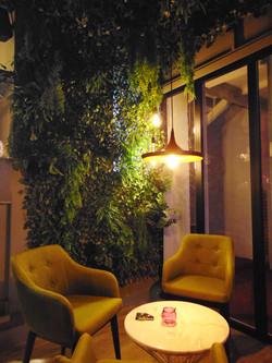 sillas verde