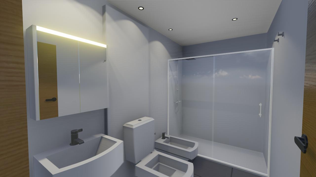 baño 3D