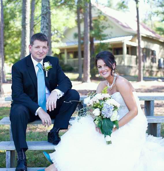 A country wedding in NC