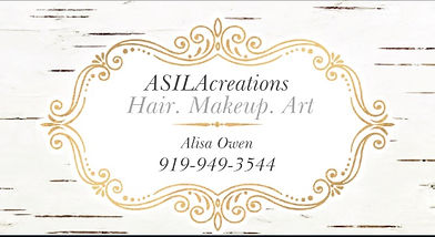 Asilacreations organic salon contact info