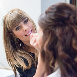 Alisa Owen hairstylist makeup artist Jupiter Florida Organic salon