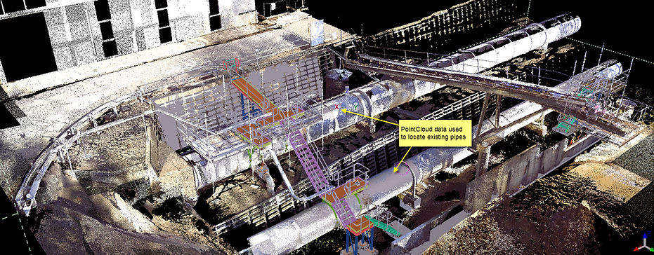 PointCloud Steel Detailing
