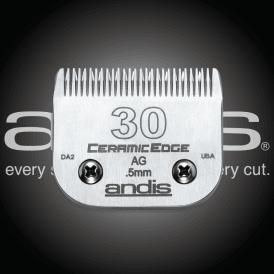 Andis #30 CERAMICEdge Clipper Blade