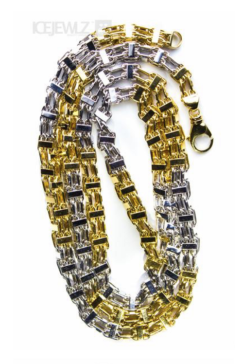 Gold Cage Chain