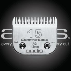 Andis #15 CERAMICEdge Clipper Blade